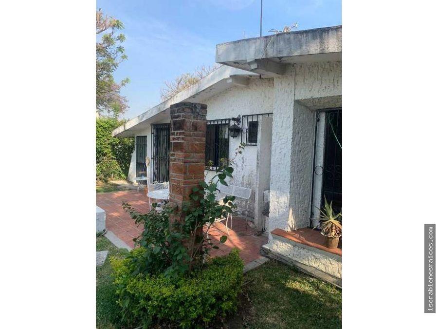 casa en un nivel ubicada en lomas de cocoyoc
