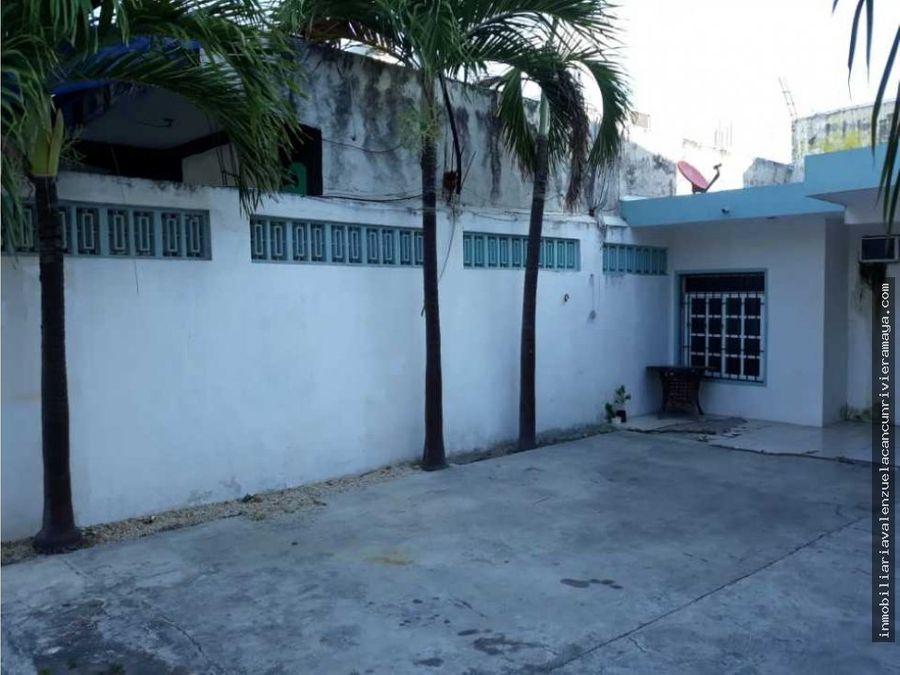 casa en venta en la smz 100