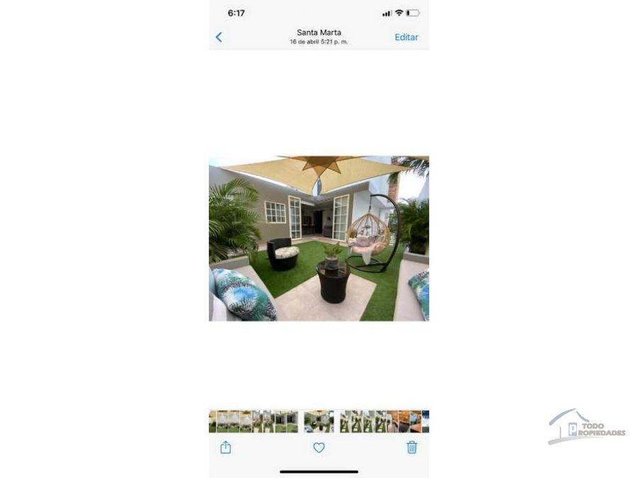 casa en venta en santa marta