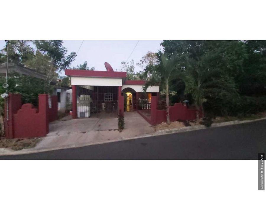 casa en venta en rio san juan