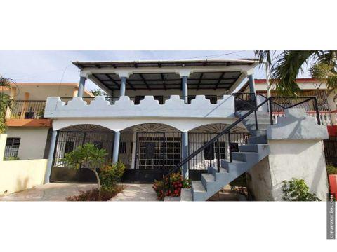 casa en venta en rio san juan con 2 estudios en 2do nivel