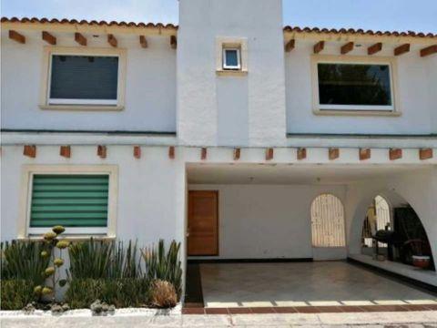 casa en venta en toluca bosques de colon villas rubi