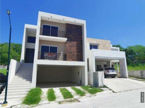 casa en venta en tampico fracc residencial el rull