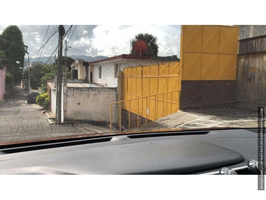 casa en venta en zona 13 colonia la libertad