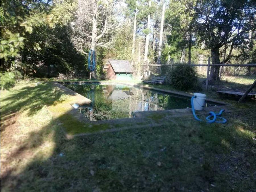 casa en venta los pichichis pucon con piscina