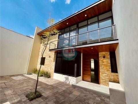 casa nueva en venta en metepec a 30min de la cdmx i lujo i confort