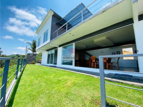casa en venta san gaspar valle de bravo vistas increibles