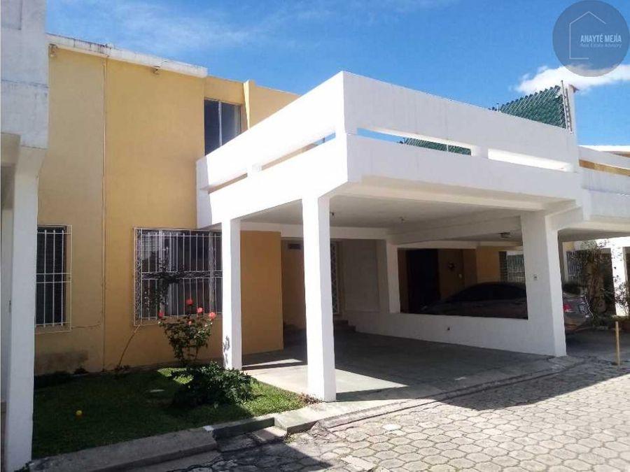 casa en venta sector a10 granjas san cristobal