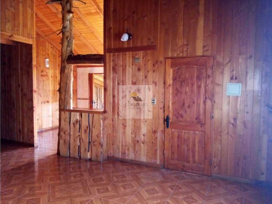 casa en venta pucon sector club de huasos pucon