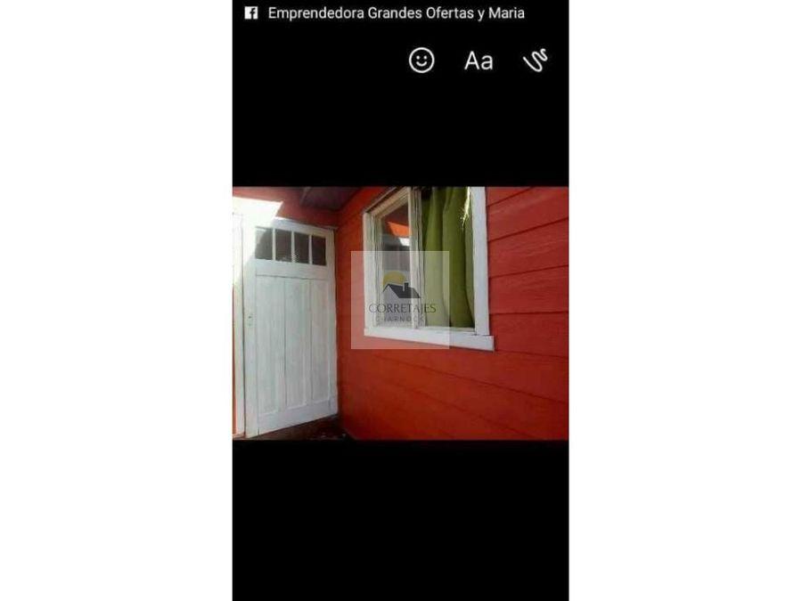 casa en venta villarrica excelente ubicacion