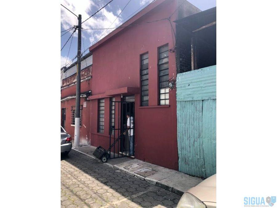 casa en venta zona 1 ciudad