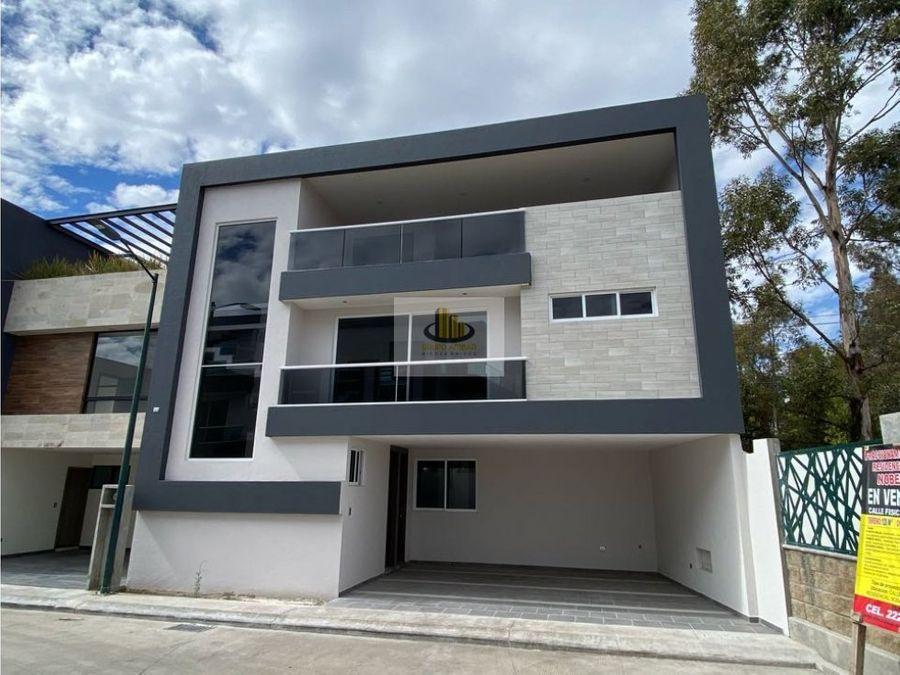 casa en ventas estrenar 4 recamaras con bano nobel frente a la udla
