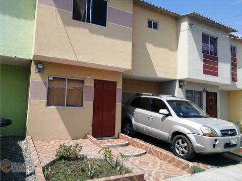 venta de casa en urb ecocity via a daule
