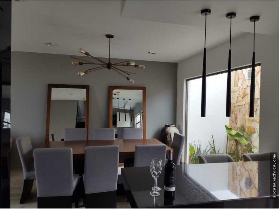 casa estilo residencial en fraccionamiento privado
