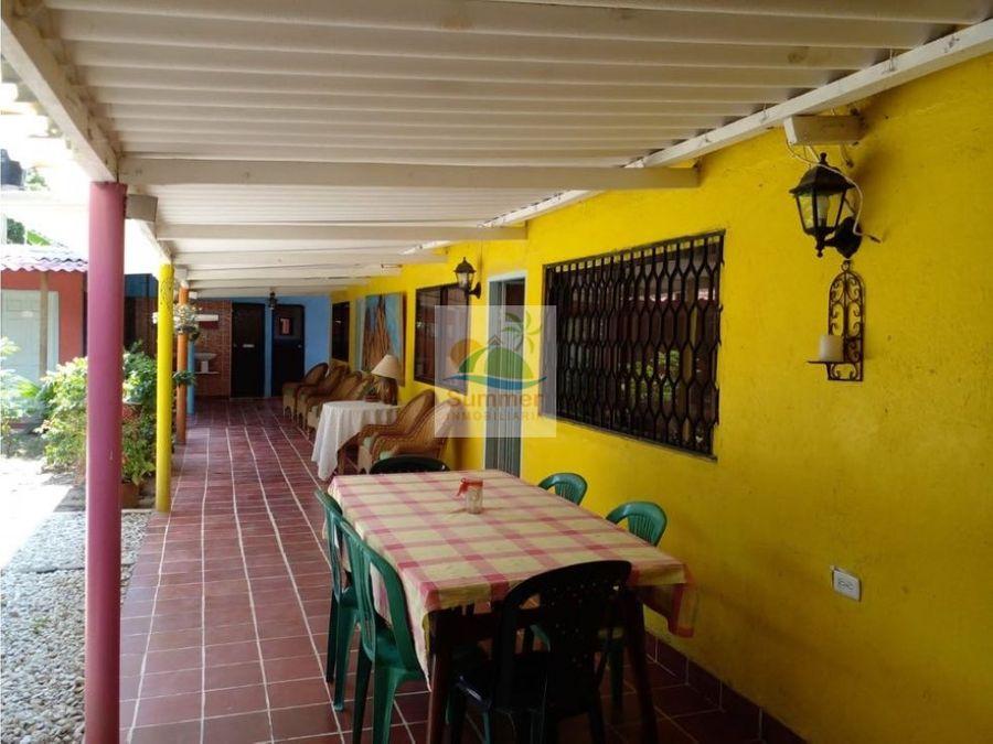 casa hostal con 6 locales comerciales