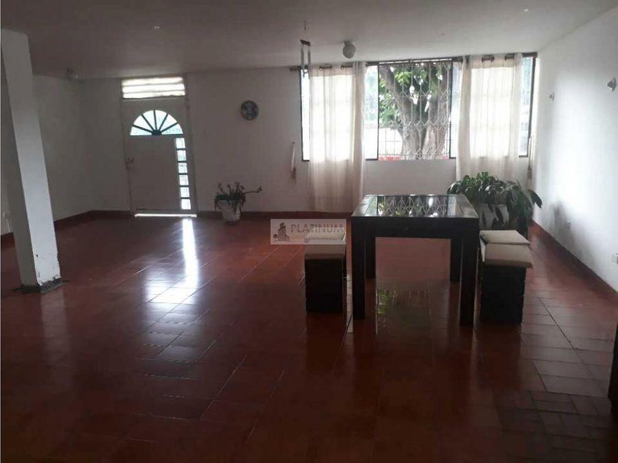 casa independiente en venta en la flora cali