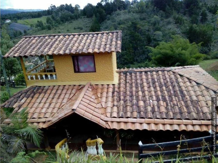 casa campestre para venta en rionegro