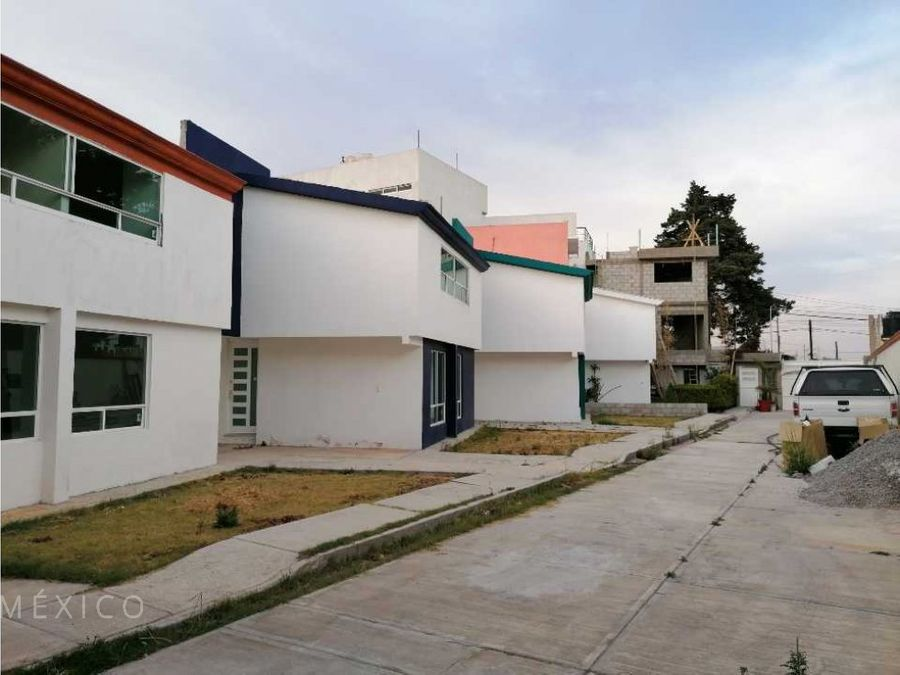 casa nueva en ixtulco tlaxcala