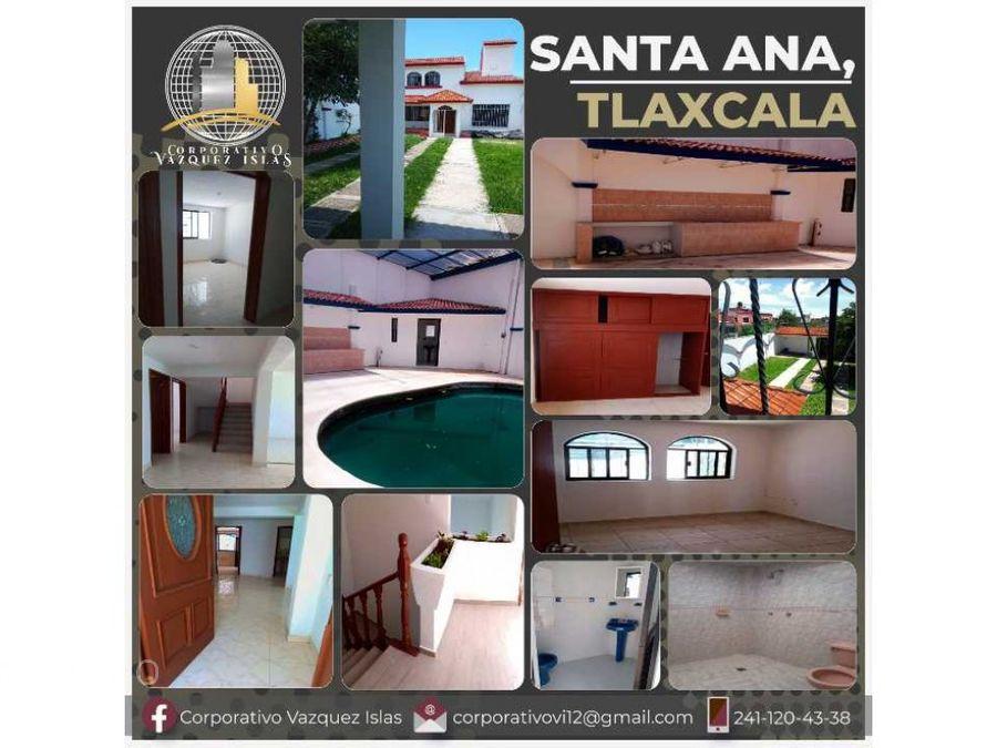 casa nueva en santa ana en tlaxcala
