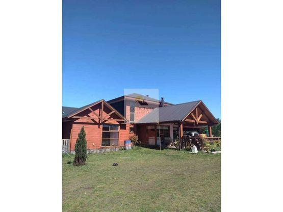 casa nueva en parcela con cabana cunco