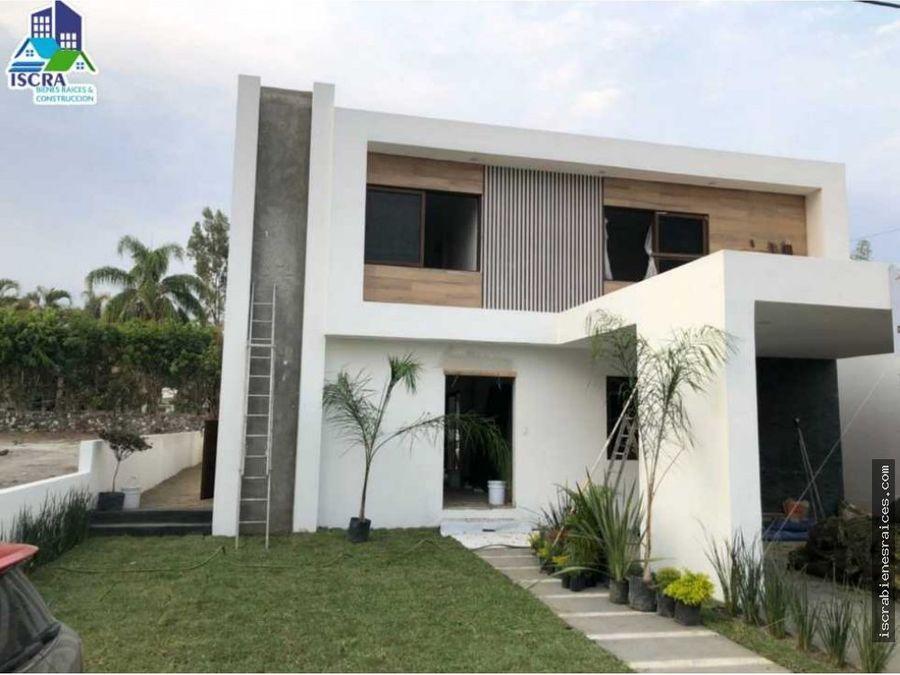 casa nueva en venta en lomas de cocoyoc
