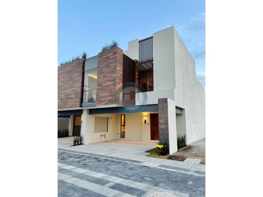 casa nueva en venta marsella residencial limite con metepec victoria