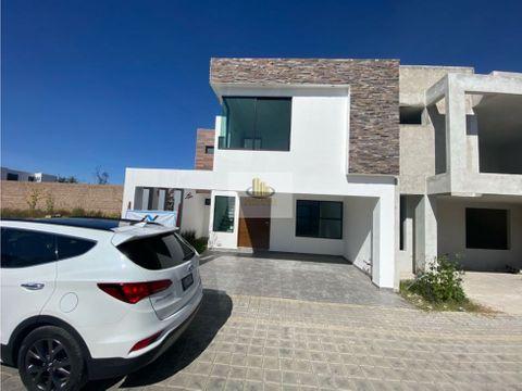 casa nueva en venta san pieri residencial cholula