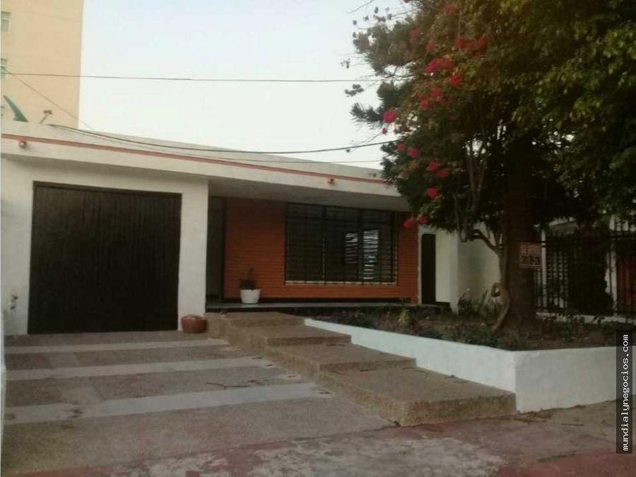 casa para proyecto en zona norte de barranquilla