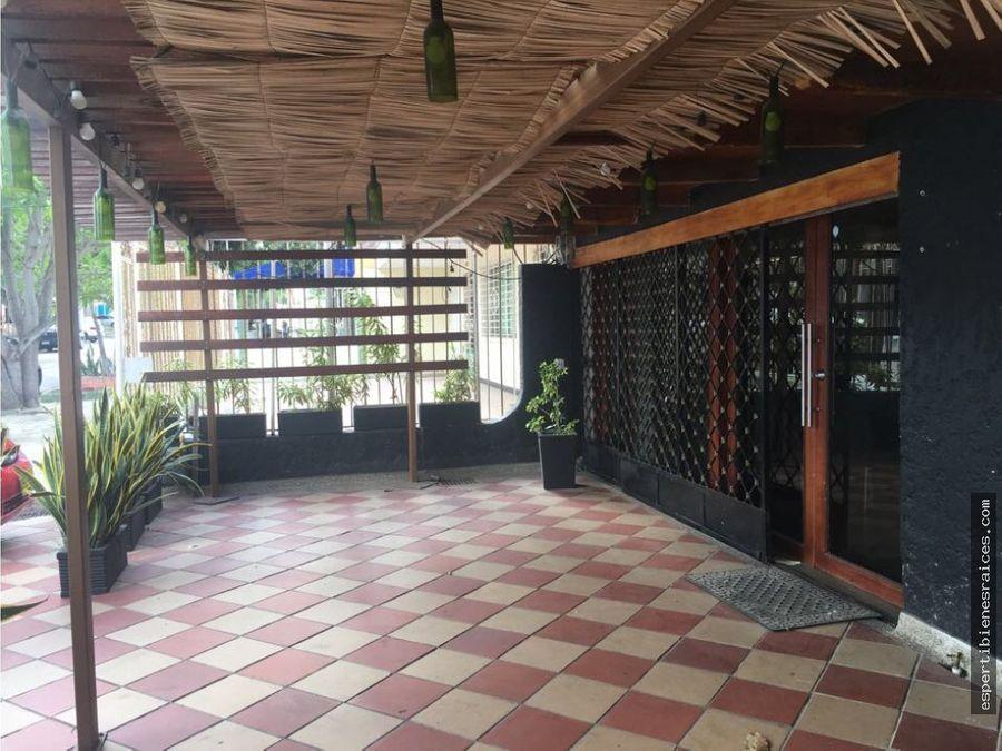 casa para restaurante en arriendo barranquilla