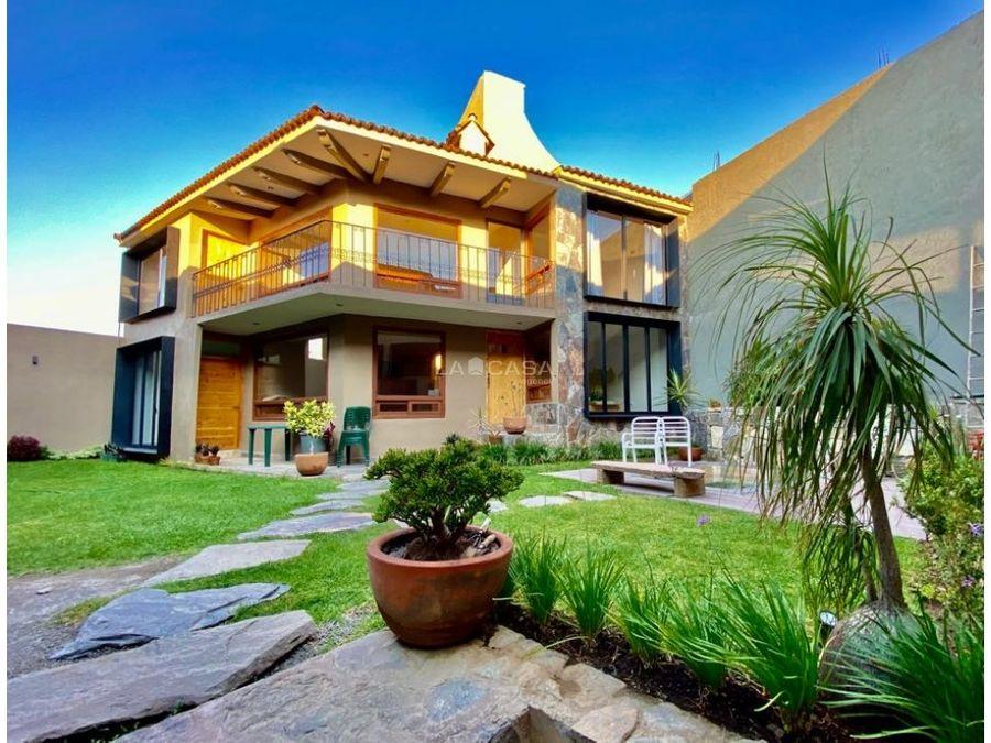 casa privada con jacuzzi en valle de bravo