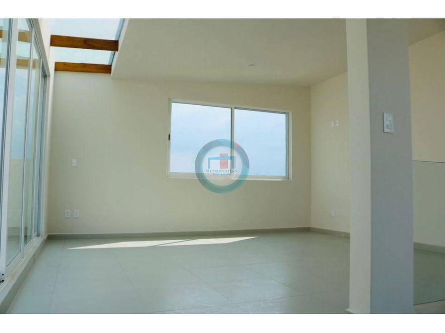 casa renta nueva roof garden limite con metepec