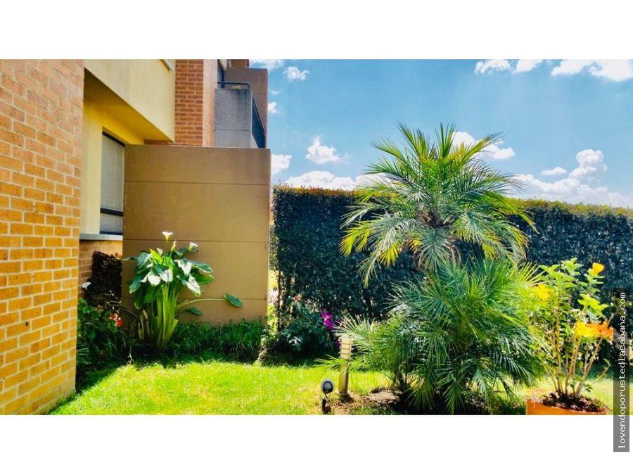 casa tipo aliso en hacienda fontanar chia de 380 mts de lote