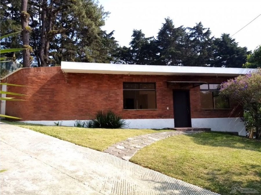 casa de un nivel remodelada en molinos del prado km 165 c1