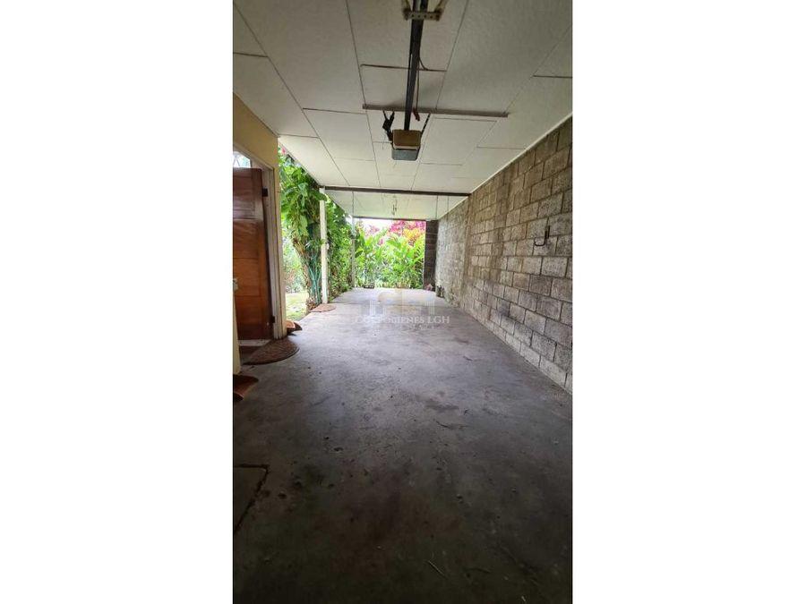 casa un solo nivel muy amplia en residencial en pavas rohrmoser