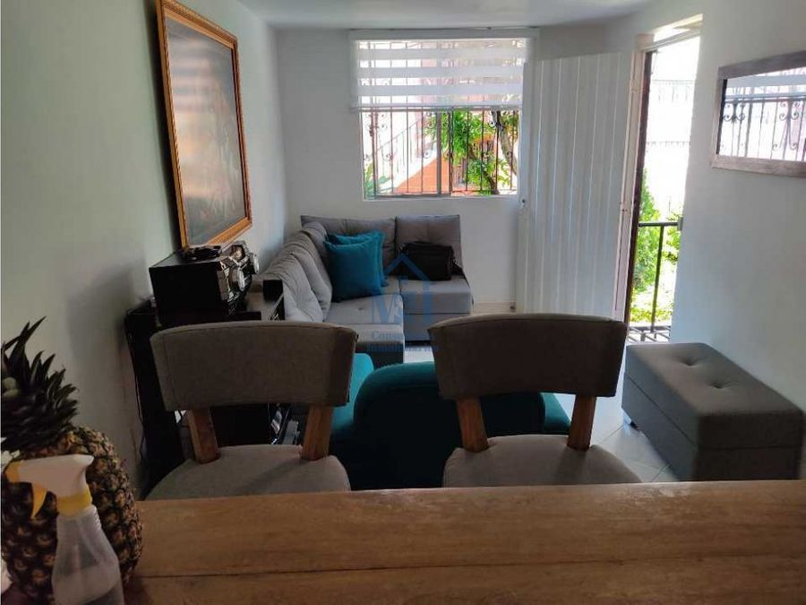 casa unifamiliar de segundo piso en venta florida verde bello ant