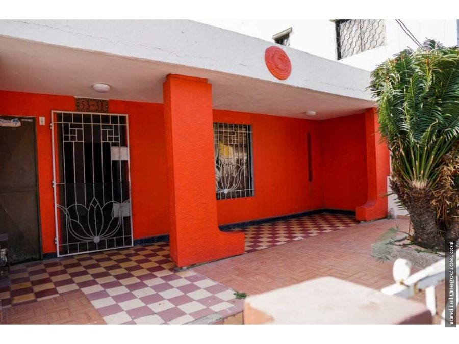 casa ubicada en zona historica de barranquilla