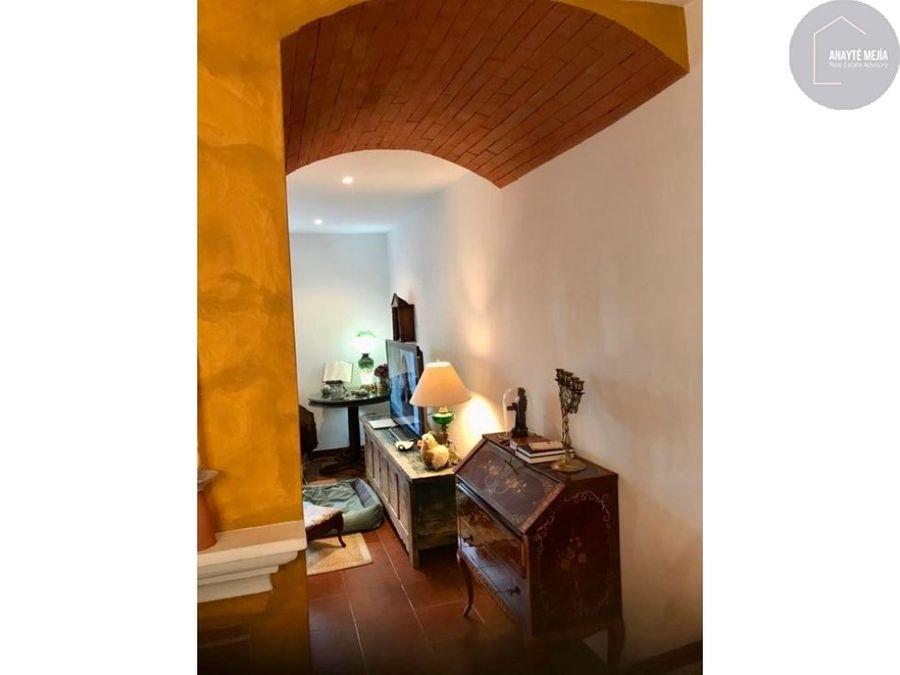 alquiler casa vacacional en antigua guatemala
