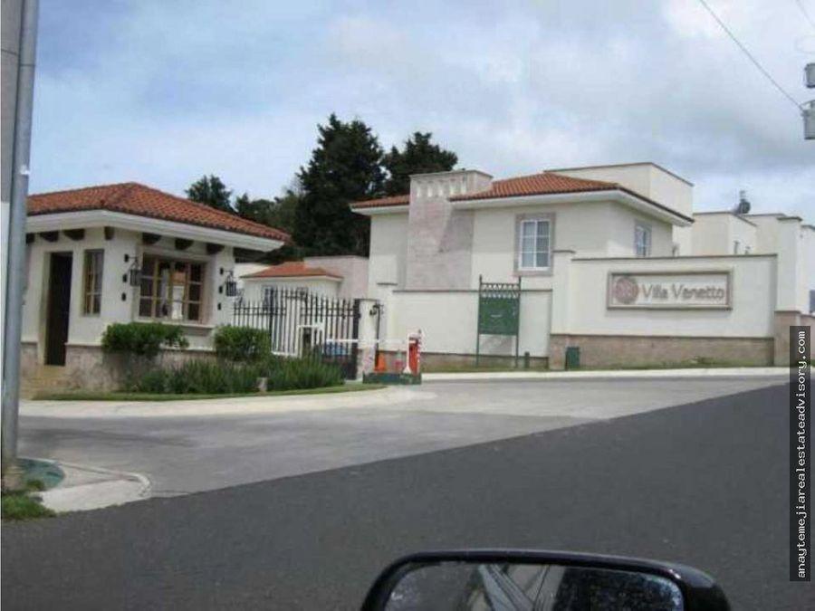 casa ventaalquiler villa venetto carretera a el salvador