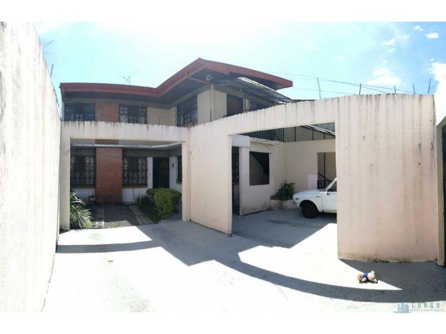 casa y apartamento en moravia los colegios