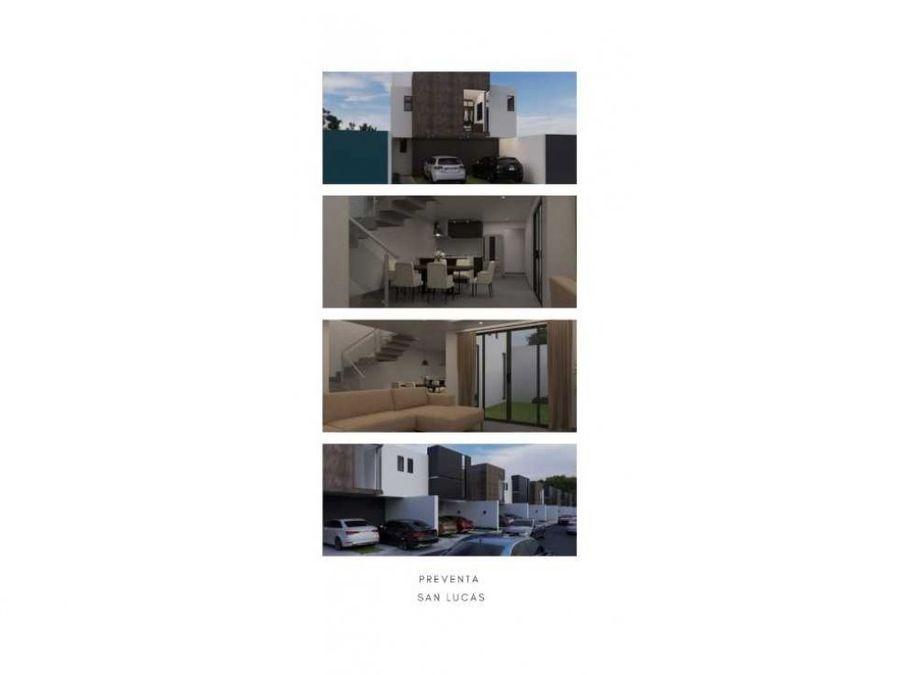 casas nuevas en san lucas cuauhtelulpan a 2 min de galerias