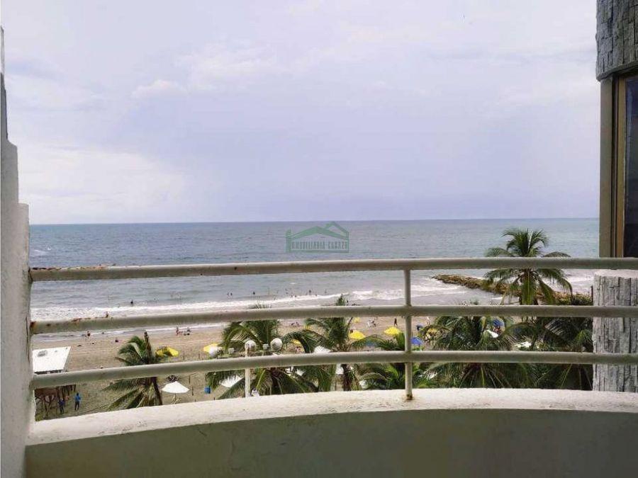 cartagena venta apartamento de 2 alcobas en bocagrande frente al mar