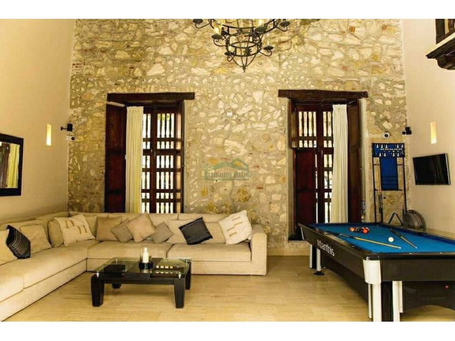 cartagena venta de casa de 6 alcobas en getsemani