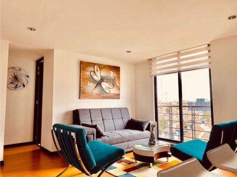 cedritos 2h2b piso 7 venta
