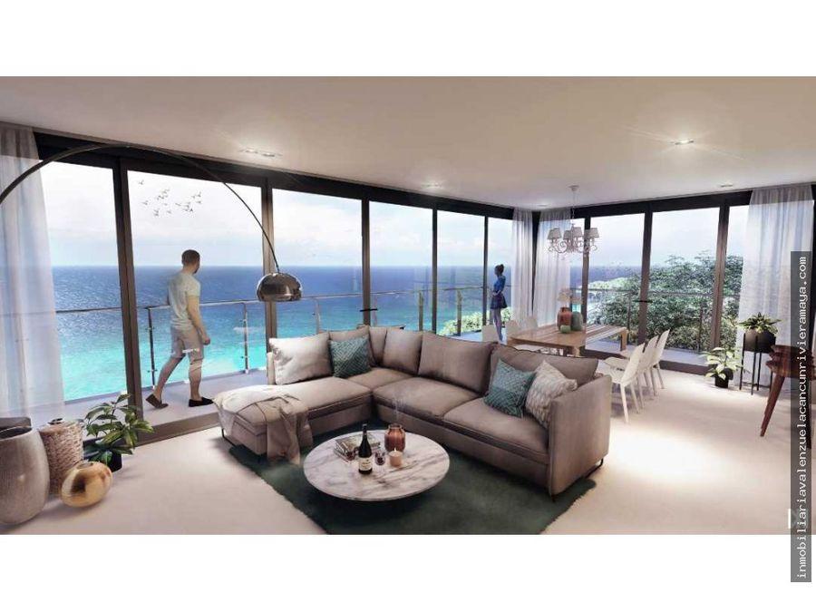 condominio con vista al mar