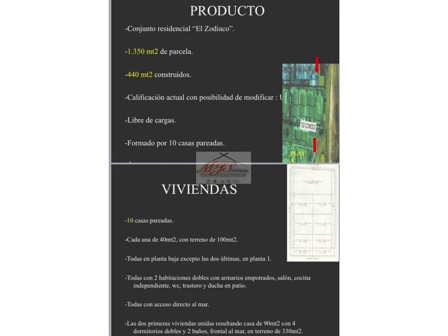 conjunto de casas pareadas oportunidad de inversion