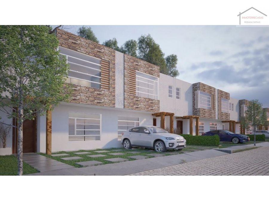 conjunto residencial en valle de los chillos uio