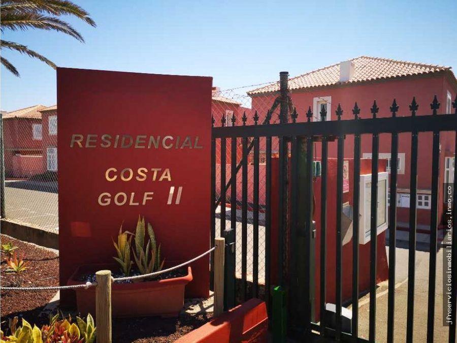 se vende duplex en costa golf 2