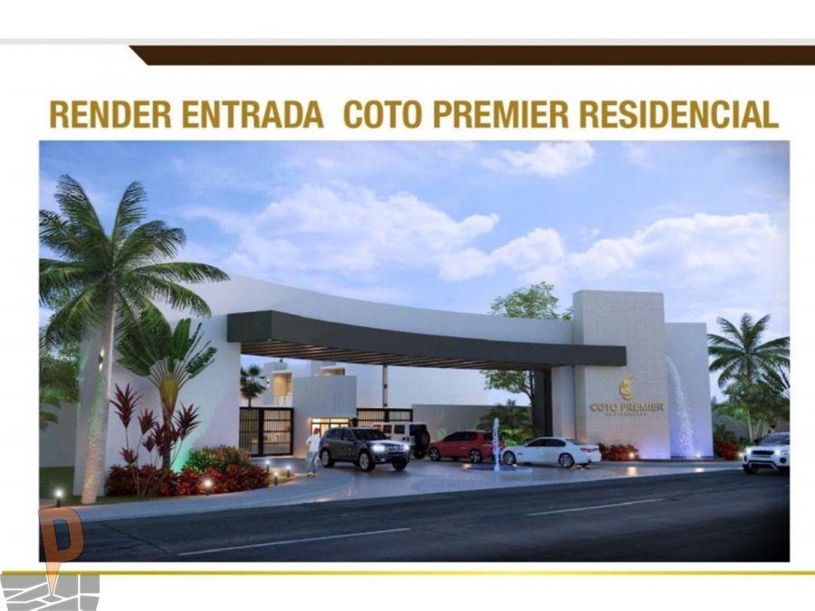 terrenos en coto premier residencial mazatlan