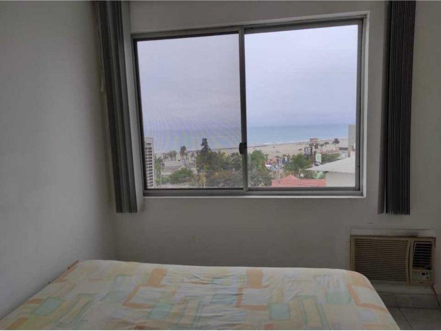 departamento 2 habitaciones a pasos de playa murcielago y mall pacific