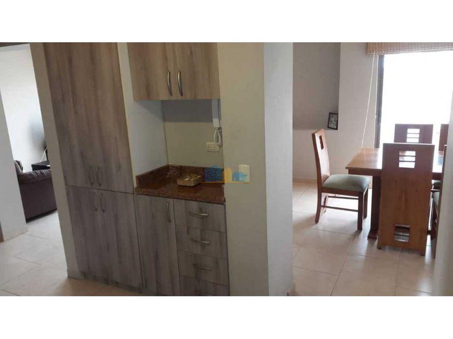 departamento 3 habitaciones amoblado sur de manta